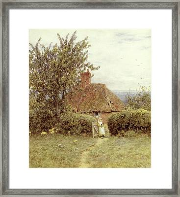 Near Haslemere Framed Print by Helen Allingham