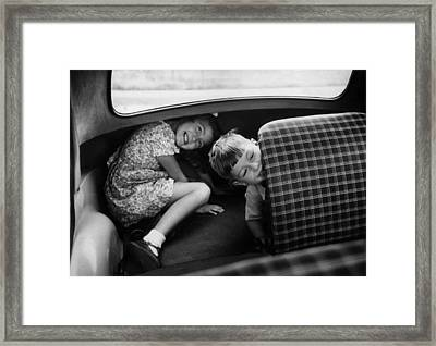 Nearly There Yet? Framed Print by John Chillingworth