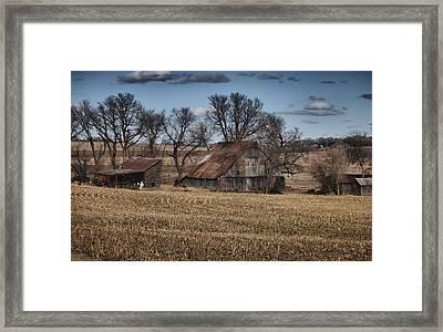 Nebraska Farm Framed Print by Tim Perry