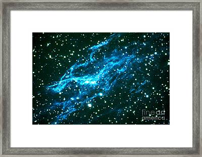 Nebulae In Cygnus Framed Print by Science Source