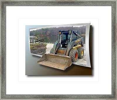 Need A Lift Framed Print by Brian Wallace
