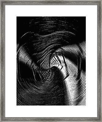 Negative Space - Feeling Negative Human Emotions Framed Print by Steve Ohlsen