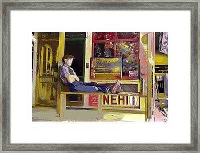 Nehi Framed Print by Charles Shoup