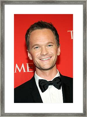 Neil Patrick Harris At Arrivals Framed Print by Everett