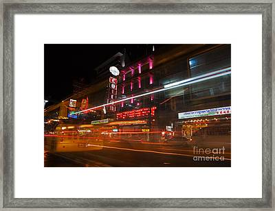 Neon Madness II Framed Print by Pete Reynolds