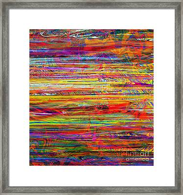Neon Trees Framed Print by RJ Aguilar