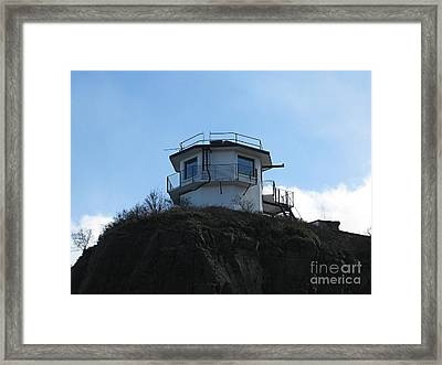 Ness Lighthouse Framed Print by Jennifer Sabir