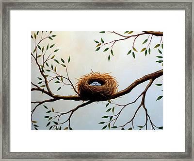 Nesting Framed Print by Amy Giacomelli