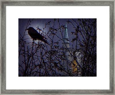 Nevermore Framed Print by David Dehner
