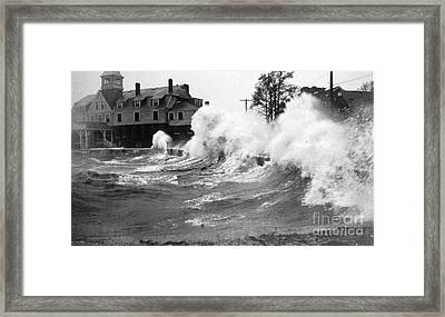 New England Hurricane, 1938 Framed Print by Science Source