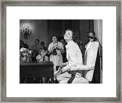 New First Lady, Betty Ford Framed Print by Everett