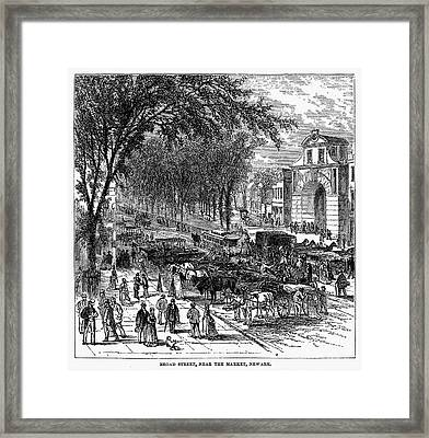 New Jersey: Newark, 1876 Framed Print by Granger