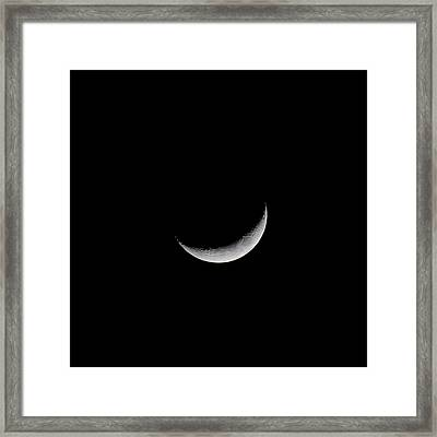 New Moon Framed Print by CP Cheah