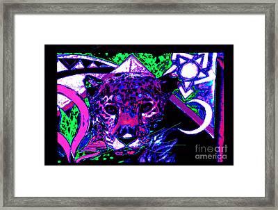 New Mu Jaguar Framed Print by Susanne Still