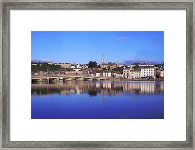 New Ross, Co Wexford, Ireland Framed Print by The Irish Image Collection