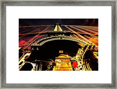 New York City Architecture Framed Print by Vivienne Gucwa