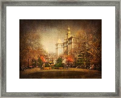New York In April Framed Print by Svetlana Sewell