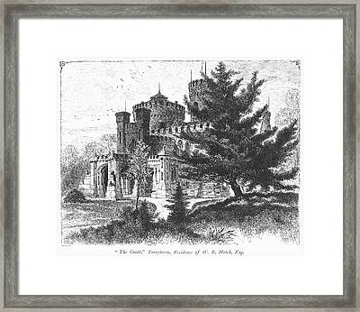 New York State: Castle Framed Print by Granger