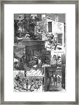 New York: Tenement, 1879 Framed Print by Granger