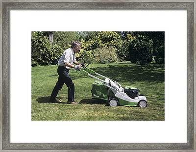 Newton's Laws Of Motion Framed Print by Sheila Terry