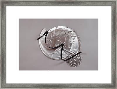 Next Time I'm Here I'll Be There Framed Print by Mac Worthington