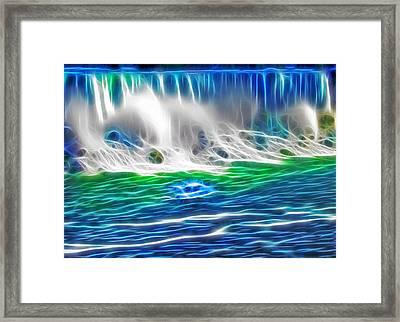 Niagara Falls - Maid Of The Mist Framed Print by Steve Ohlsen