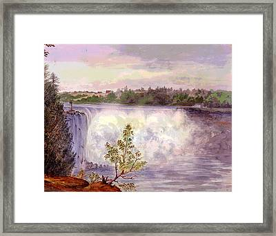 Niagara Falls Framed Print by Charles Shoup