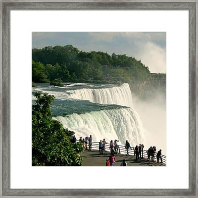 Niagara Falls State Park Framed Print by Mark J Seefeldt