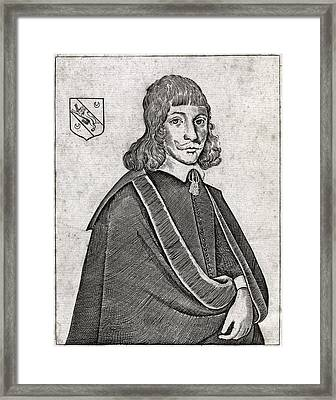 Nicholas Culpeper, English Physician Framed Print by Middle Temple Library