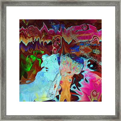 Night Crawlers Framed Print by Day Williams