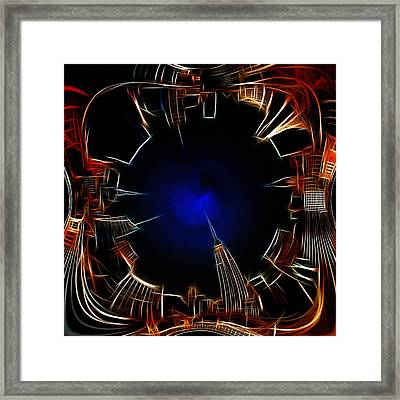 Night View Framed Print by Stefan Kuhn