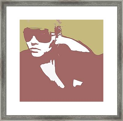 Niki Brown Framed Print by Naxart Studio