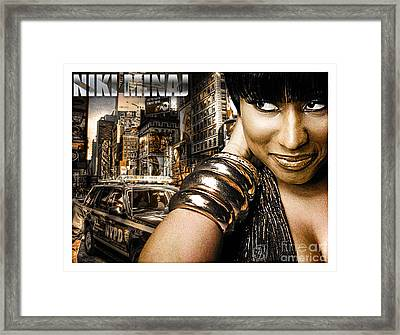 Niki Framed Print by The DigArtisT