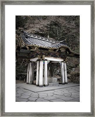 Nikko Architecture Framed Print by Naxart Studio