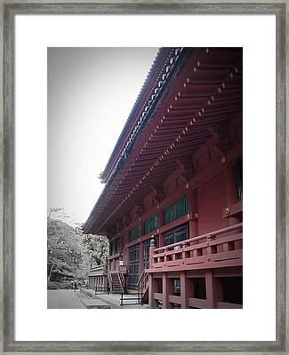 Nikko Monastery Framed Print by Naxart Studio