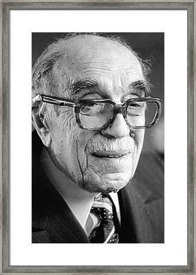 Nikolay Semyonov, Soviet Physicist Framed Print by Ria Novosti