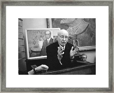 Nikolay Urvantsev, Soviet Geologist Framed Print by Ria Novosti