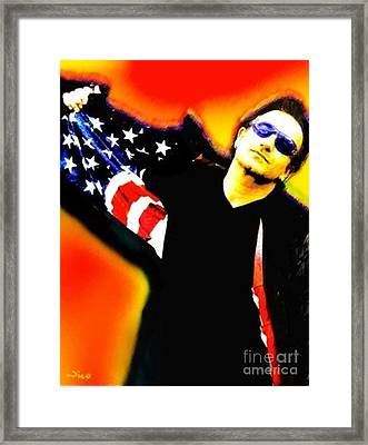 Nixo Bono Framed Print by Nicholas Nixo