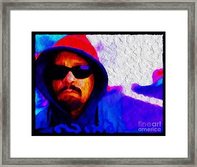 Nixo.ice T Framed Print by Nicholas Nixo