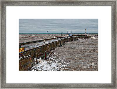 No Boats Today Framed Print by David  Hollingworth