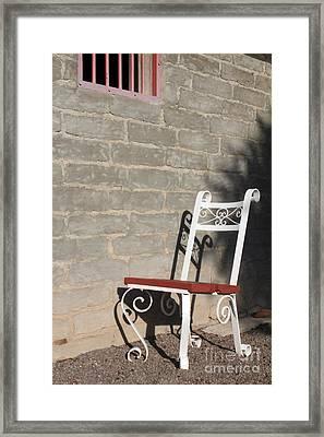 No Visitors Today Framed Print by Alycia Christine