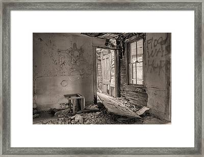 No Way Out II Framed Print by JC Findley