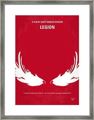 No050 My Legion Minimal Movie Poster Framed Print by Chungkong Art