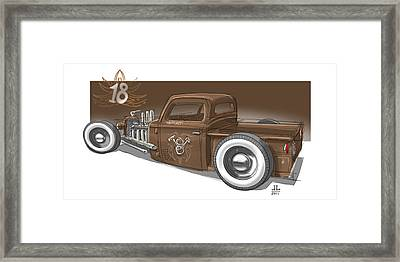 No.18 Framed Print by Jeremy Lacy
