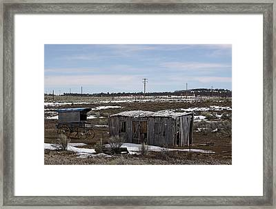 Nobody Home Framed Print by Viktor Savchenko