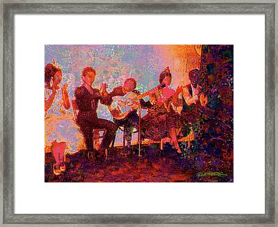 Noche De Flamenco Framed Print by Dean Gleisberg