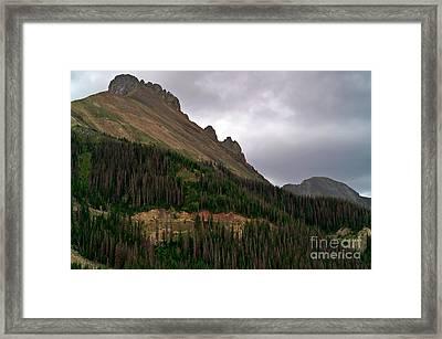 Nokhu Crags Colorado Framed Print by Michael Kirsh
