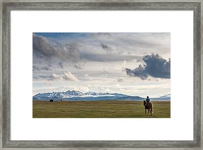 Nomads Framed Print by Konstantin Dikovsky