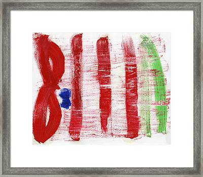 Non Compliance Framed Print by Taylor Pam
