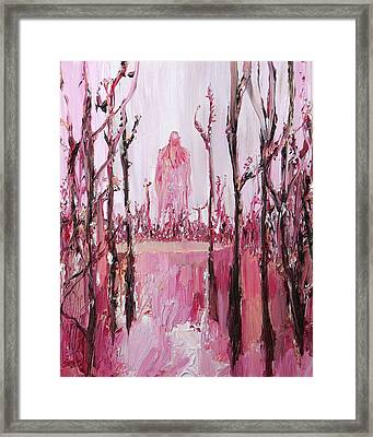 None Can Reach Heaven Who Has Not Passed Through Hell Framed Print by Fabrizio Cassetta
